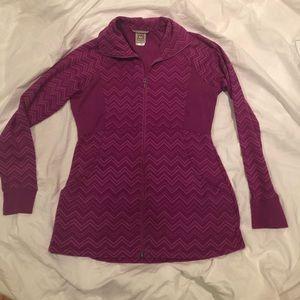 5/$25 GUC pretty color avalanche jacket L